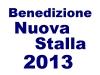 2013benedizionenuovastalla